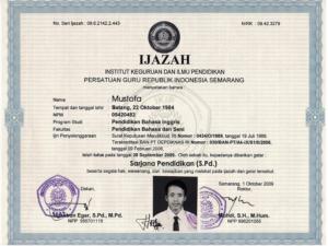 Jasa Penerjemah Tersumpah Ijazah Bahasa Inggris di Jakarta Selatan, Perusahaan Jasa Penerjemah Bersertifikat Resmi dan Terpercaya Yang Ada di Indonesia.